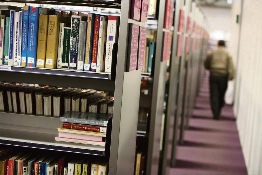 La bibliothèque s'est progressivement adaptée à la venue de ces différents publics. Loïc Venance/AFP