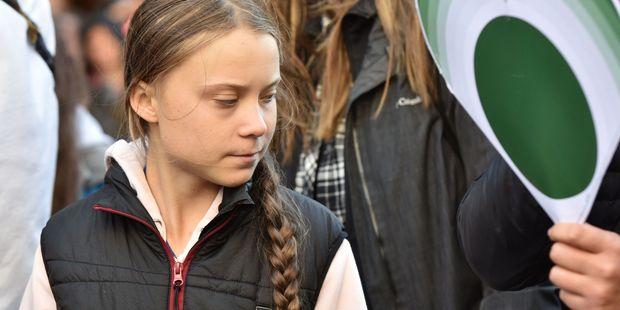 La jeune militante écologiste suédoise Greta Thunberg a refusé mardi un prix pour l'environnement afp.com - Don MacKinnon