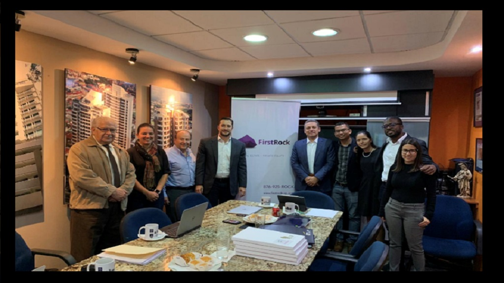 •	Jose Cespedes, Attorney-at-law, Silvia Contreras, Partner in Grupo Inmobilirio del Parque (GIP), William Deglado, CFO- GIP, Kristian Federspiel- Partner at Toees De Heredi, Alejandro Appel- Partner EY Law, Jordan Chin- Chief Legal First Rock Capital, Andrea Ramos- Manager EY Law, Shaun Myers- Finance & Analysis Manager First Rock Capital and Gabriela Delgado, Financial Accountant at the offices of Ernst & Young Law in Costa Rica.