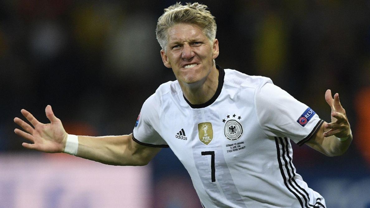 Bastian Schweinsteiger se retire après l'Euro. © AFP/Martin Bureau