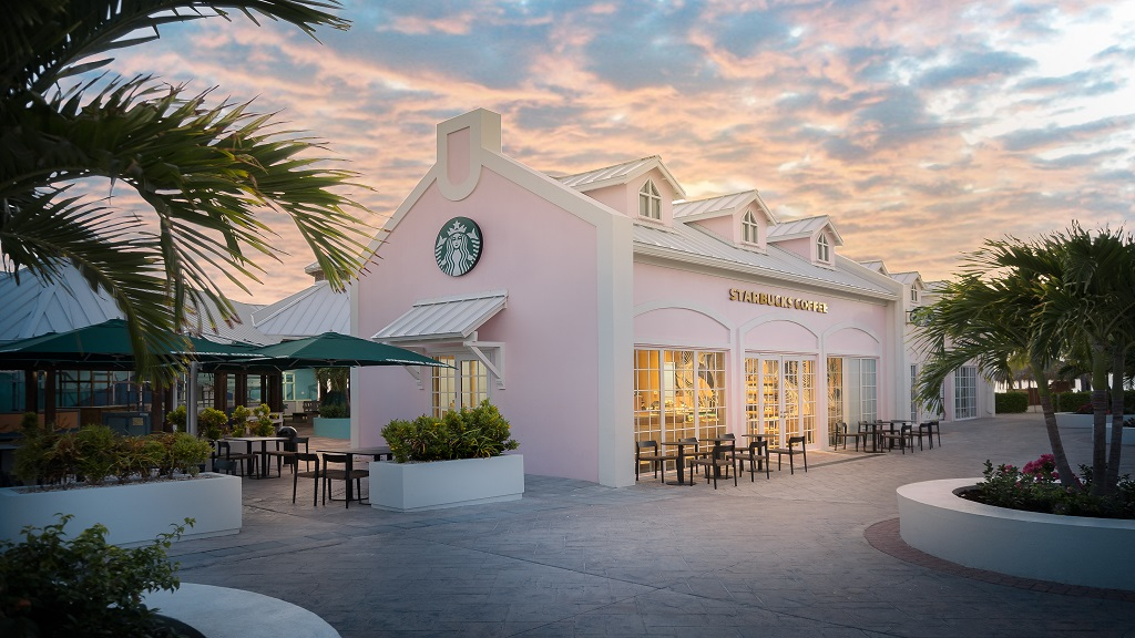 The Starbucks store in Grand Turk, Turks & Caicos, on the Grand Turk Cruise Port. (Photos: contributed)