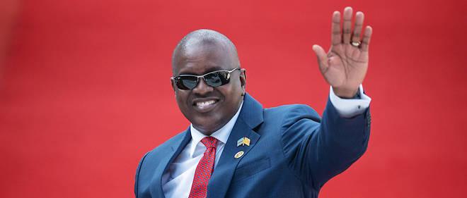 Mokgweetsi Masisi a été officiellement déclaré vainqueur et président du Botswana.  © MICHELE SPATARI / AFP