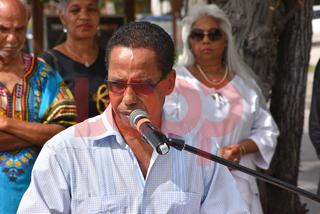 Barbados' Ambassador to CARICOM David Comissiong