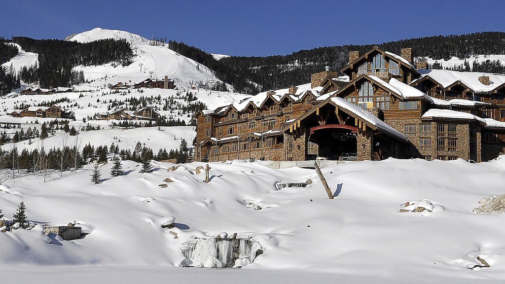 This undated file photo shows the Yellowstone Club near Big Sky, Montana. Five former workers are suing the club and a hospitality staffing agency alleging they and more than 100 other workers recruited from Jamaica were discriminated against and paid less than non-Jamaican workers doing the same job. (Erik Petersen/Bozeman Daily Chronicle via AP)