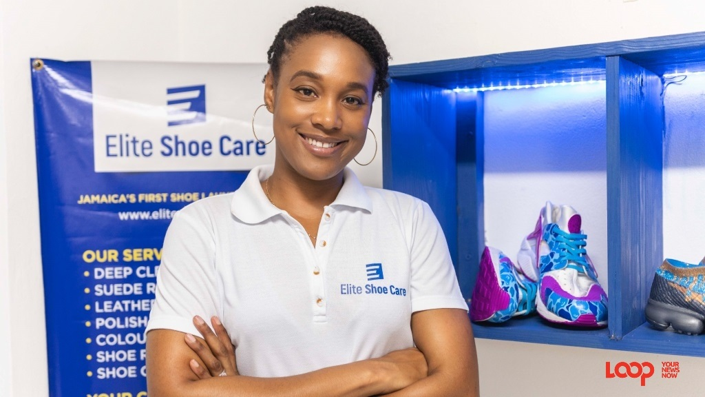 IT specialist Shauna Vassell-Kelly and her husband Johnathon recently opened their Kingston-based shoe repair and restoration business, Elite Shoe 