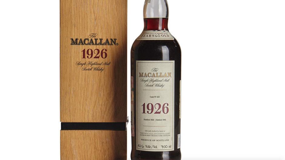 Une bouteille de whisky vendue 2,4 millions $ aux enchères