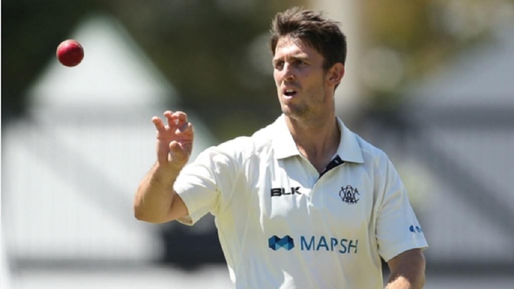 Australia all-rounder Mitchell Marsh.