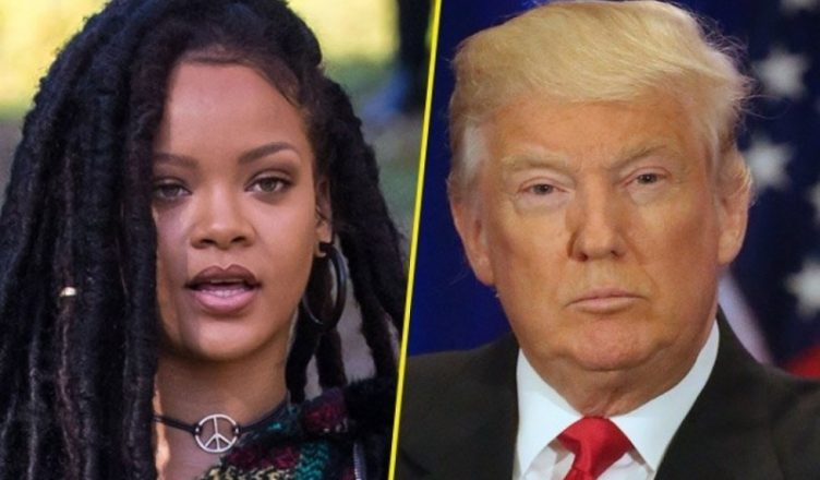Pour Rihanna, Trump est «la personne la plus malade mentalement aux États-Unis»