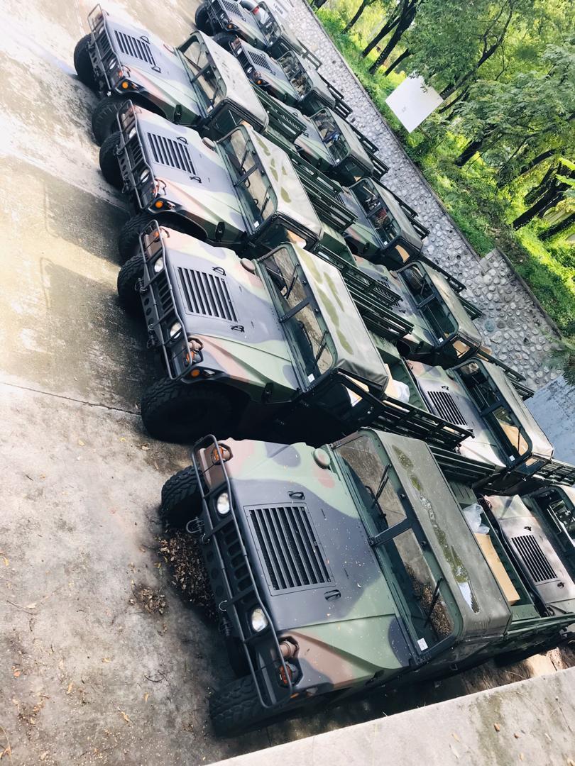 Don d'une flotte de véhicules de Taiwan à la police haïtienne.