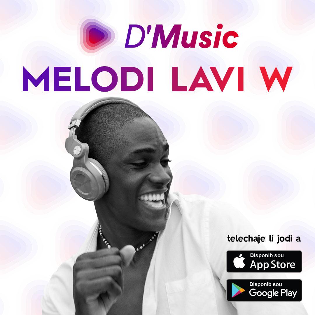 d'Music, une application qui vous permettra de danser au son de sa musique préférée.