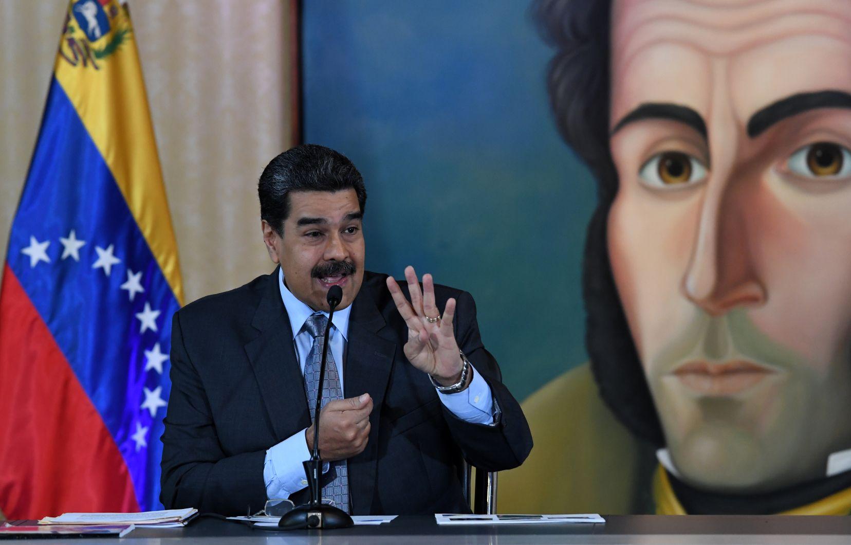 Photo: Yuri Cortez Agence France-Presse Le président du Venezuela, Nicolás Maduro