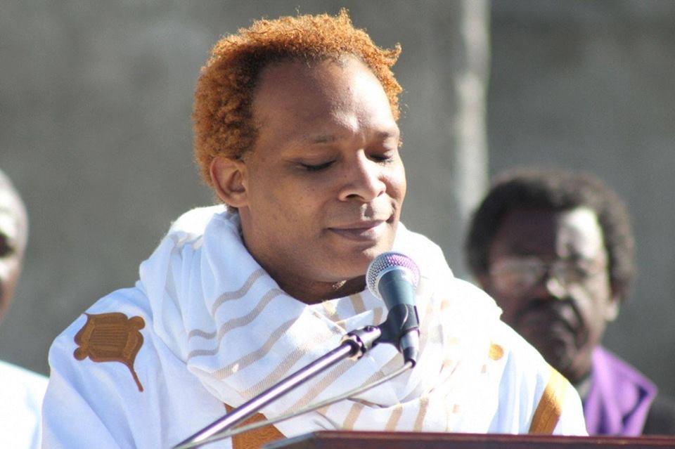 Erol Josué, professeir, danseur, chanteur, directeur du bureau National d'Ethnologie. Crédit photo: FB Erol Josué