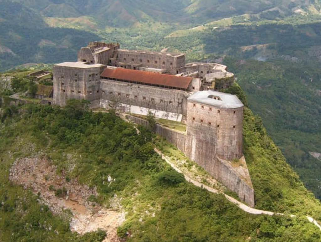 La citadelle Laferrière située au Cap-Haïtien