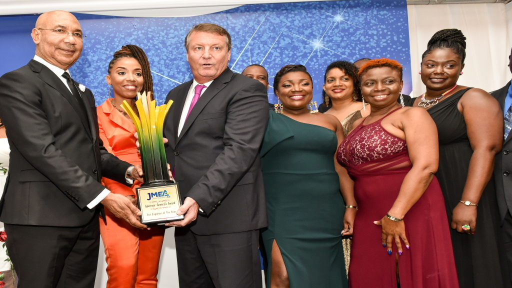 The ceremony unveiled the top Jamaican companies who won awards in recognition of their outstanding performance in manufacturing and export throughout the year 2018.