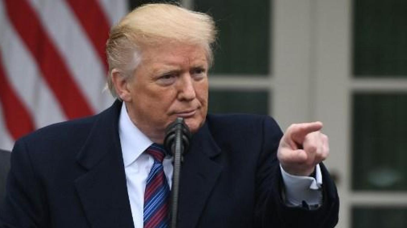 Le président américain Donald Trump le 4 janvier 2019 à Washington. SAUL LOEB / AFP