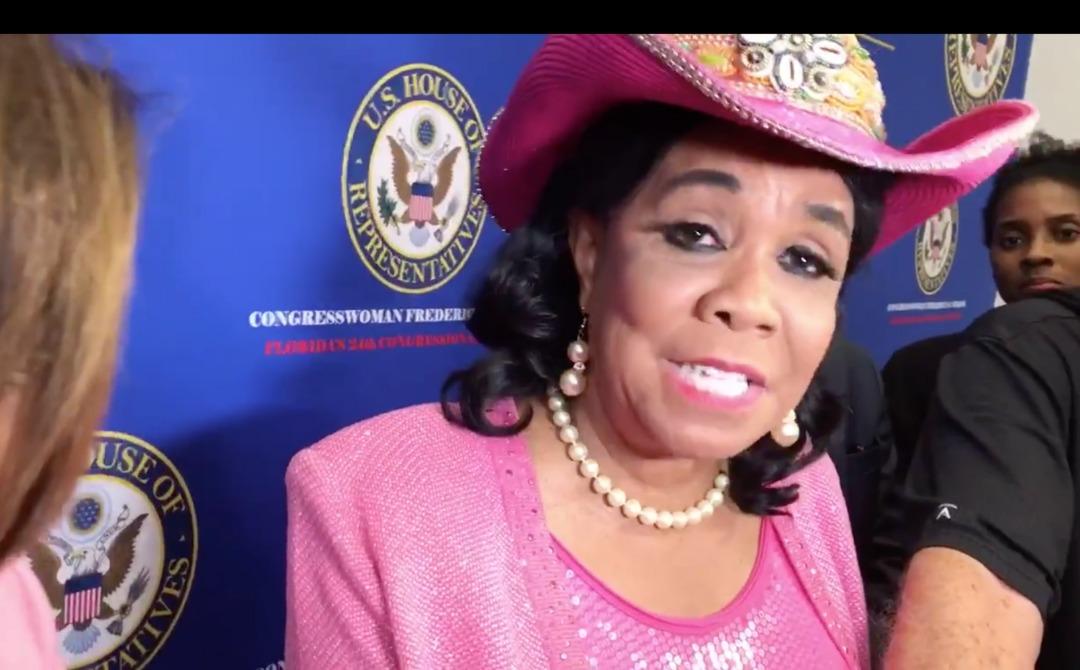 La congresswoman Fréderica Wilson