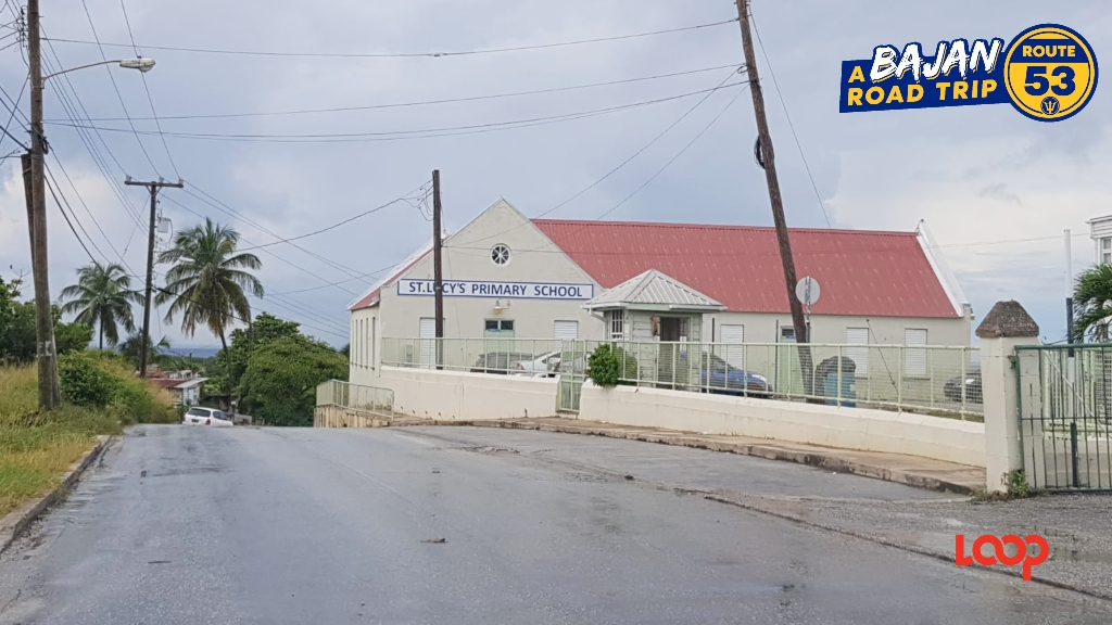 St Lucy Primary School is next door to the Daryl Jordan Secondary, formerly the St Lucy Secondary School.