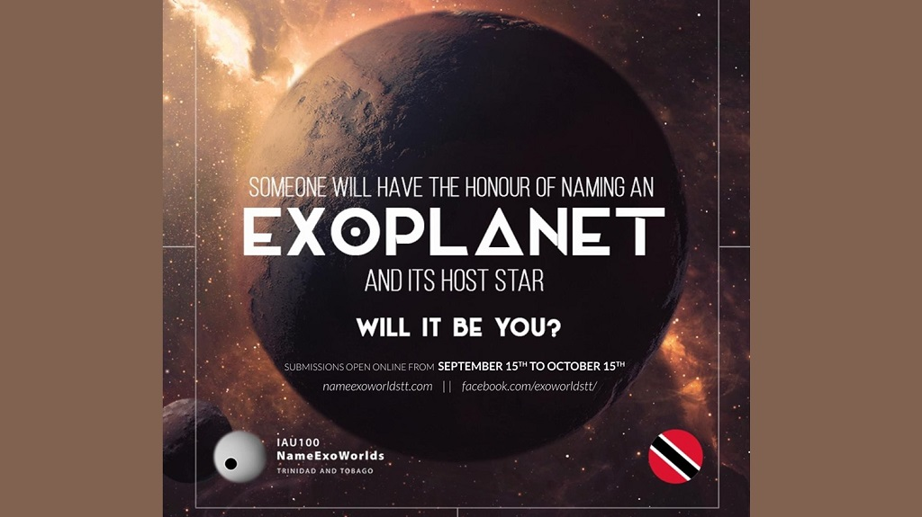 Voting to close for naming T&T's exoplanet, host star