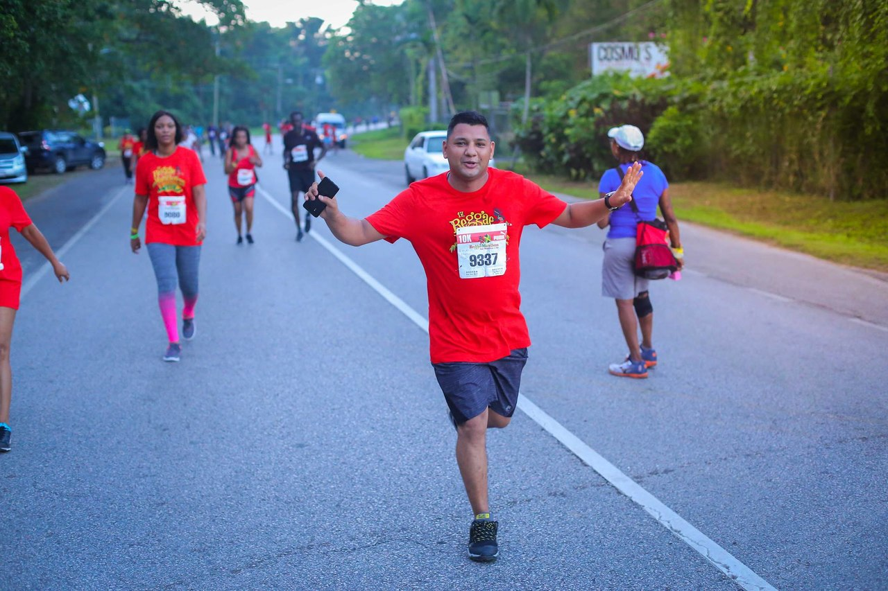 More than 32 countries were represented in last year's staging of the Reggae Marathon. (PHOTO: Reggae Marathon via Facebook)
