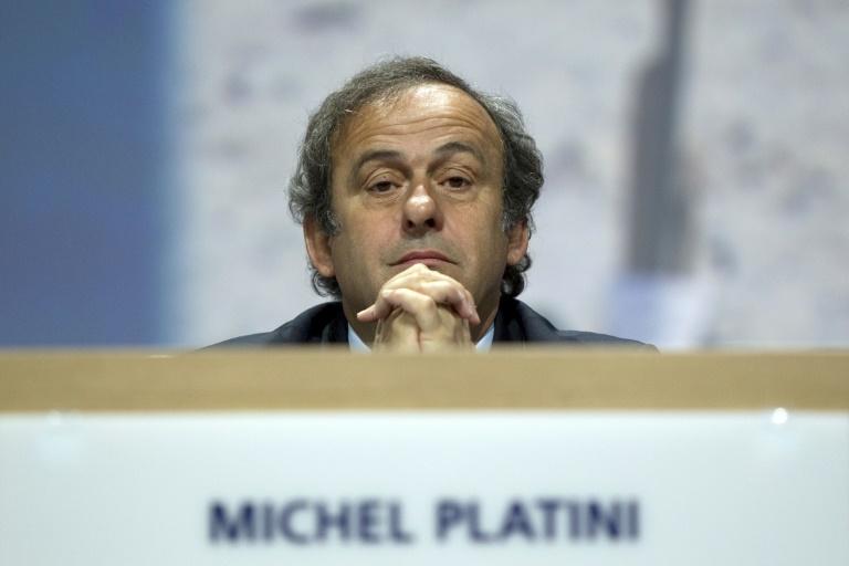 Michel Platini, alors président de l'UEFA, lors d'un congrès à Zurich, le 1er juin 2011