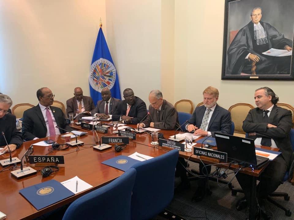 Photo : Mission permanente d'Haïti auprès de l'OEA / Facebook