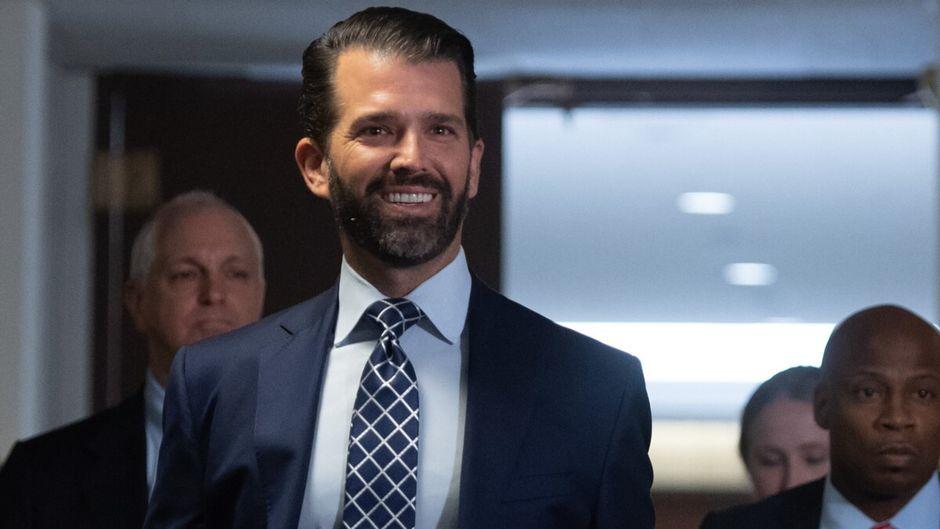 Le fils de Trump sort un livre contre les «hystériques» anti-Trump