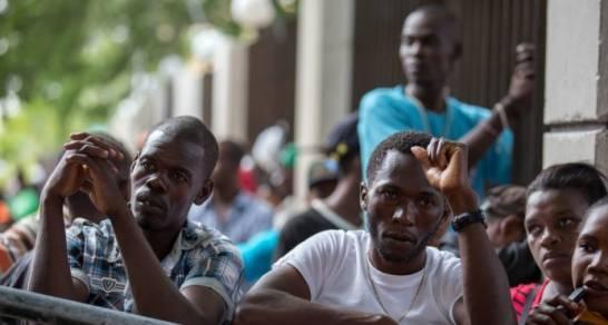 Des migrants illégaux arretés en République Dominicaine et sous la menace d'expulsion./