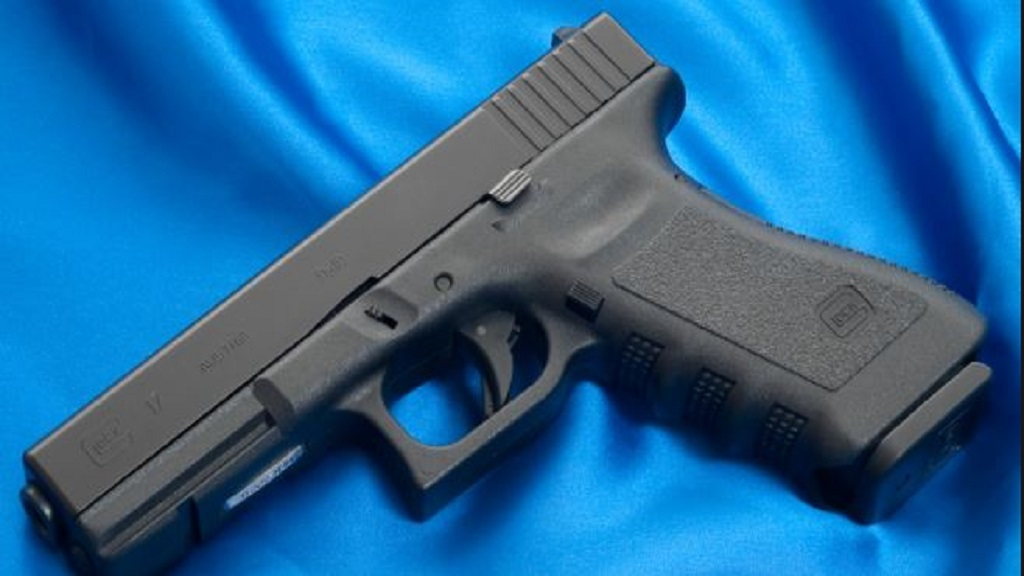 File photo of a Glock 9mm pistol.