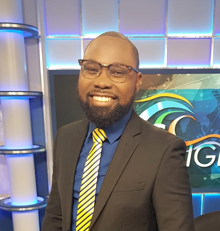Journalist, News and Sports Anchor with the state owned Caribbean Broadcasting Corporation (CBC), Cheyne Jones