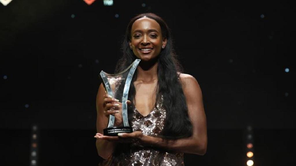 Female World Athlete of the Year Dalilah Muhammad. (PHOTO: IAAF).