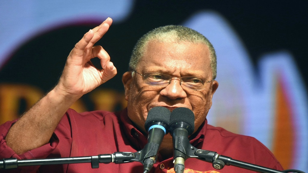 Dr Peter Phillips (file photo)