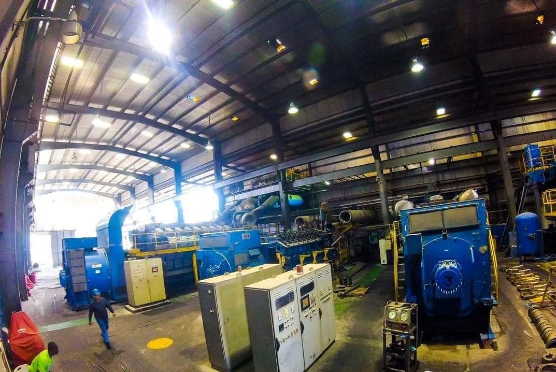 A l'intérieur de l'une des centrales de Varreux. Photo archives : Page Facebook/Sogener.