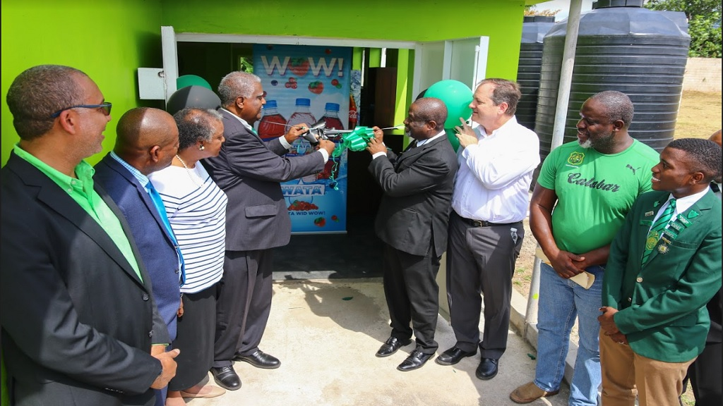 Wisynco $5m donation facilitates new gym at Calabar - Loop News Jamaica