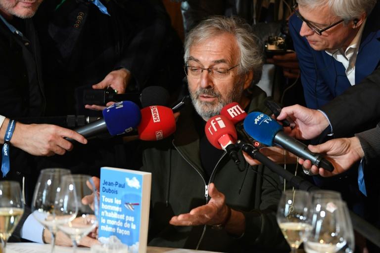 L'écrivain Jean-Paul Dubois Jean-Paul Dubois lauréat du prix Goncourt le 4 novembre 2019 à Paris