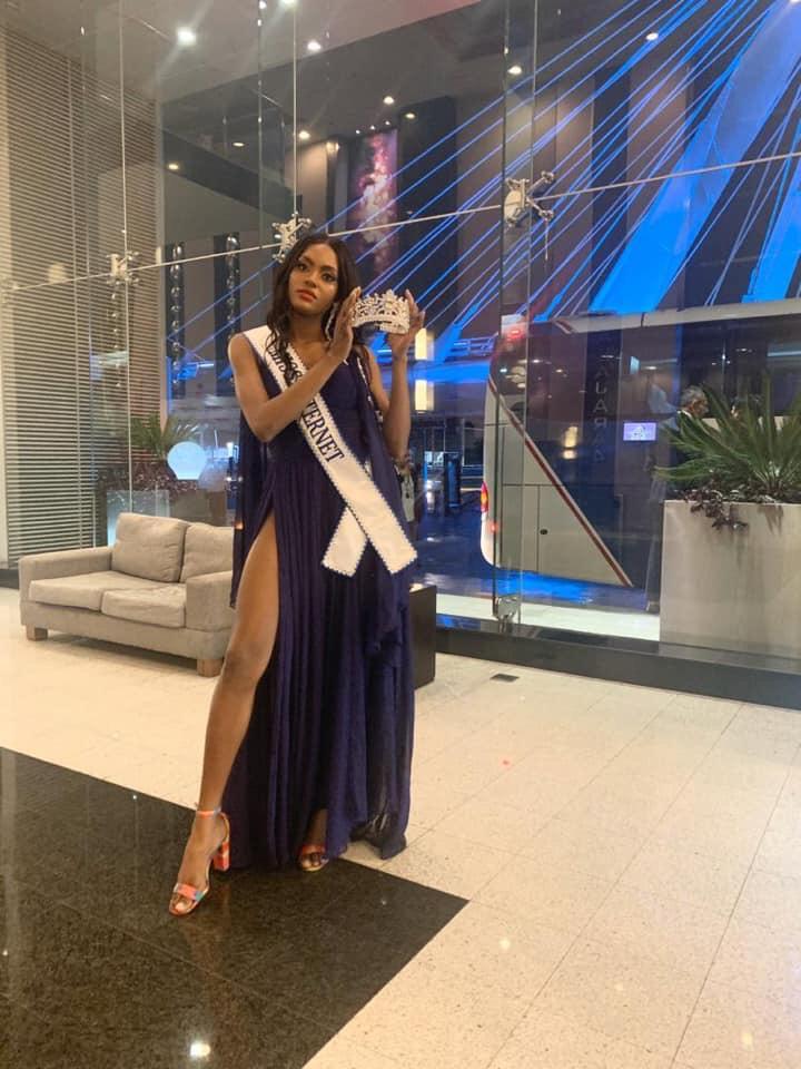 Eden Berandoive, 3e dauphine a Miss Haiti 2019 Miss Internet Intetnationla a Miss Panamerican 2019 Credit photo: FB Eden Berandoive