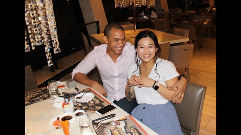 Michael Anthony Cuffe Jr and fiancée Natasha Koo are engaged! (Photos: via Instagram)