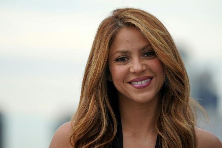 La chanteuse colombienne Shakira à la présentation de la coupe Davis à New York le 6 septembre 2019 afp.com - Bryan R. Smith
