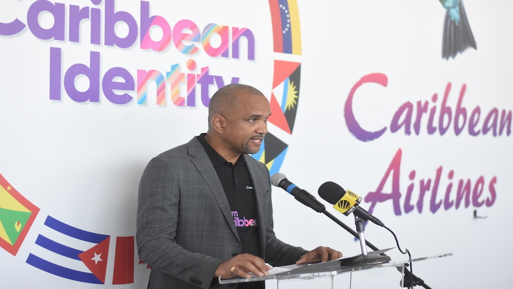 Garvin Madera, Caribbean Airlines CEO.