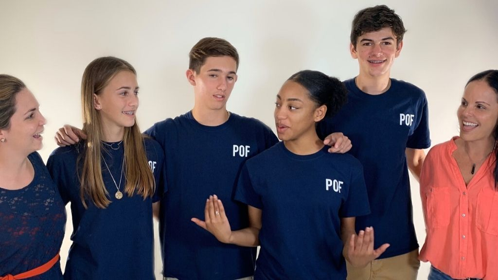 (l-r) Kayla Young (Cayman Compass), Ciara Bradley, Ben Somerville, Dejea Lyons, Connor Childs, Daphne Ewing-Chow (Loop News)