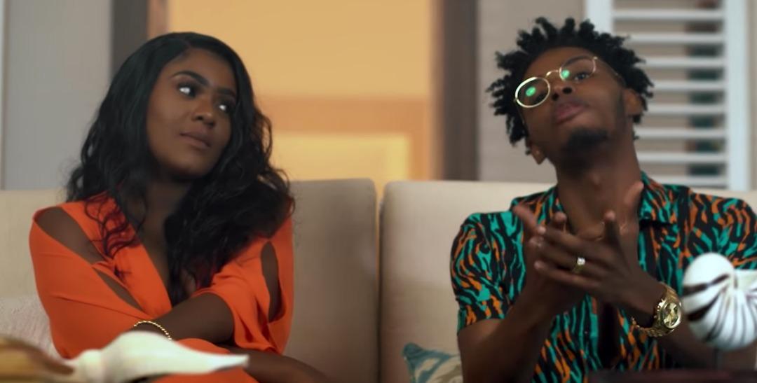 """Capture d'ecran tirée de la video """"M pa ka viv ave l"""" de Wendyy et de Shishi"""