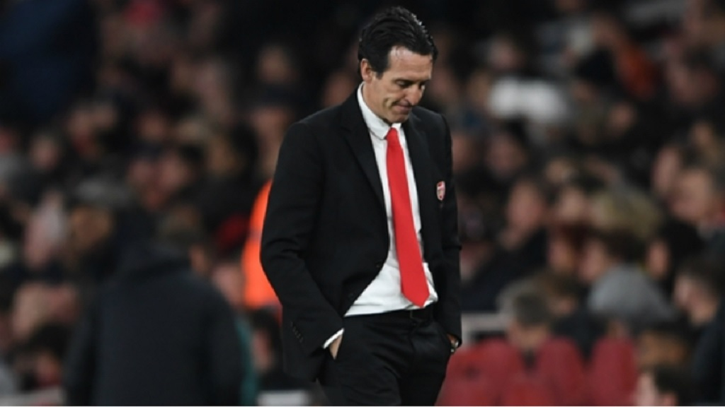 Former Arsenal boss Unai Emery.