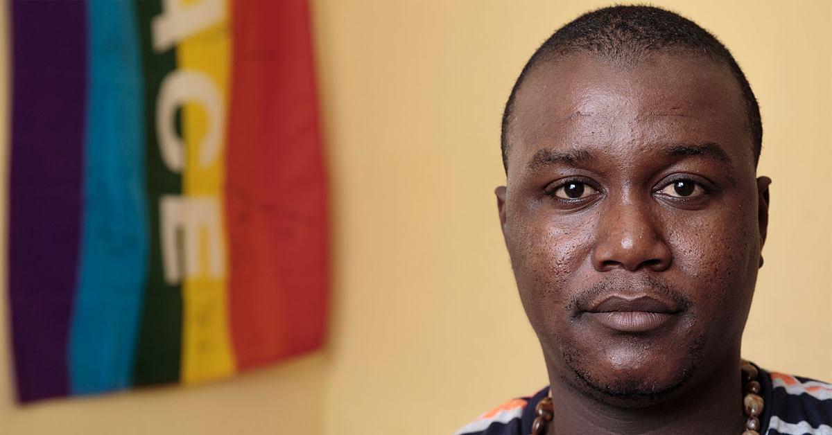 Charlot Jeudy, président de « l'Association haïtienne de défense des droits des homosexuels » (Kouraj)