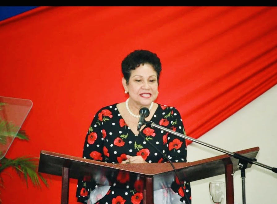 President of the Barbados Secondary Teachers' Union, Mary Ann Redman