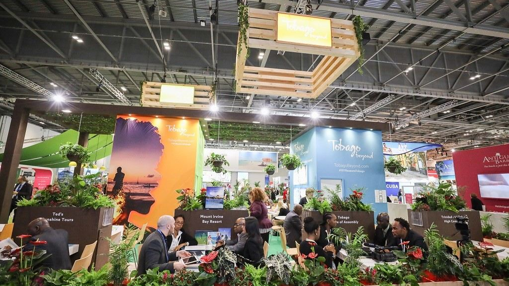 The Tobago stand at WTM 2019