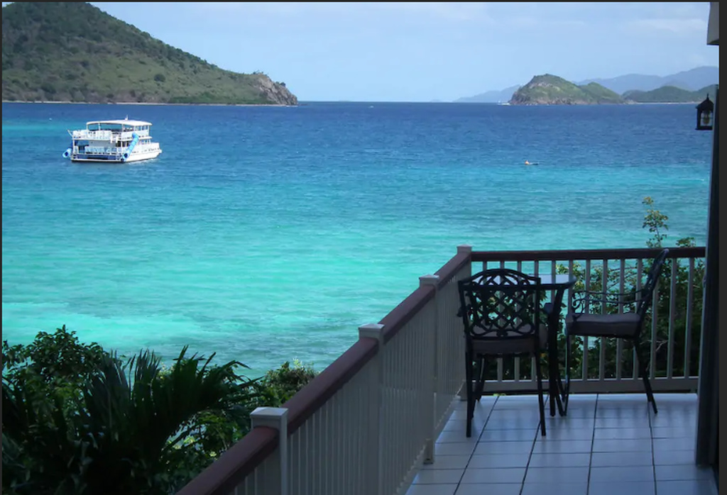 This property from the USVI is listed on Airbnb