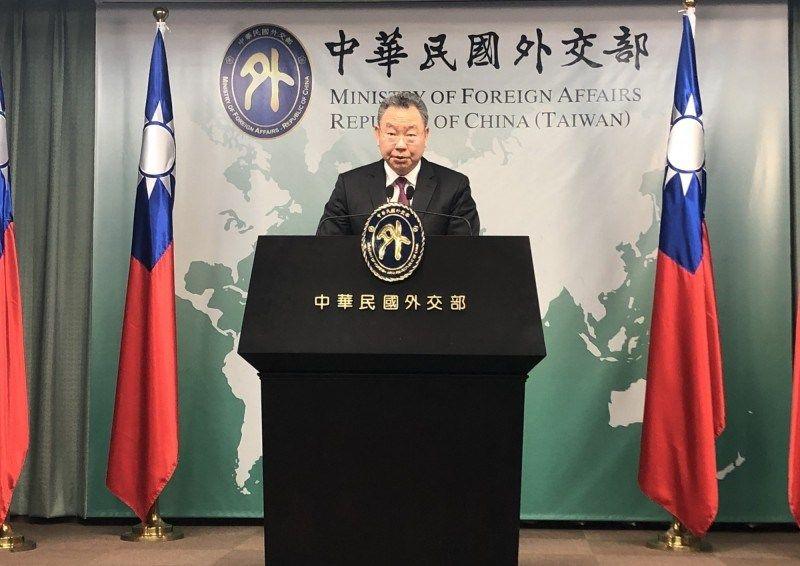 Yui Tah-ray, Directeur général du département des Affaires d'Amérique latine et des Antilles au ministère des Affaires étrangères, à Taipei./Photo: Liberty Times.