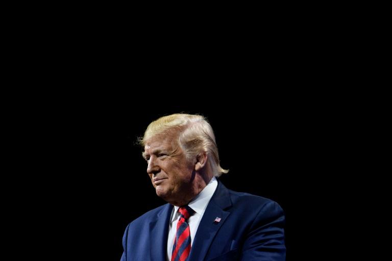 Donald Trump, le 28 octobre 2019 à Chicago