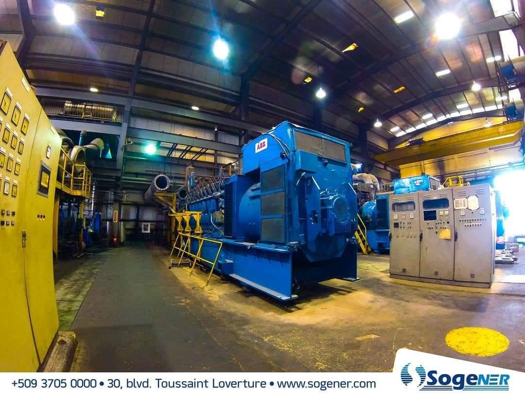 Une vue de la centrale électrique Varreux 1, gérée par la Société Générale d'Energie. Photo Archives. Page Facebook/Sogener.