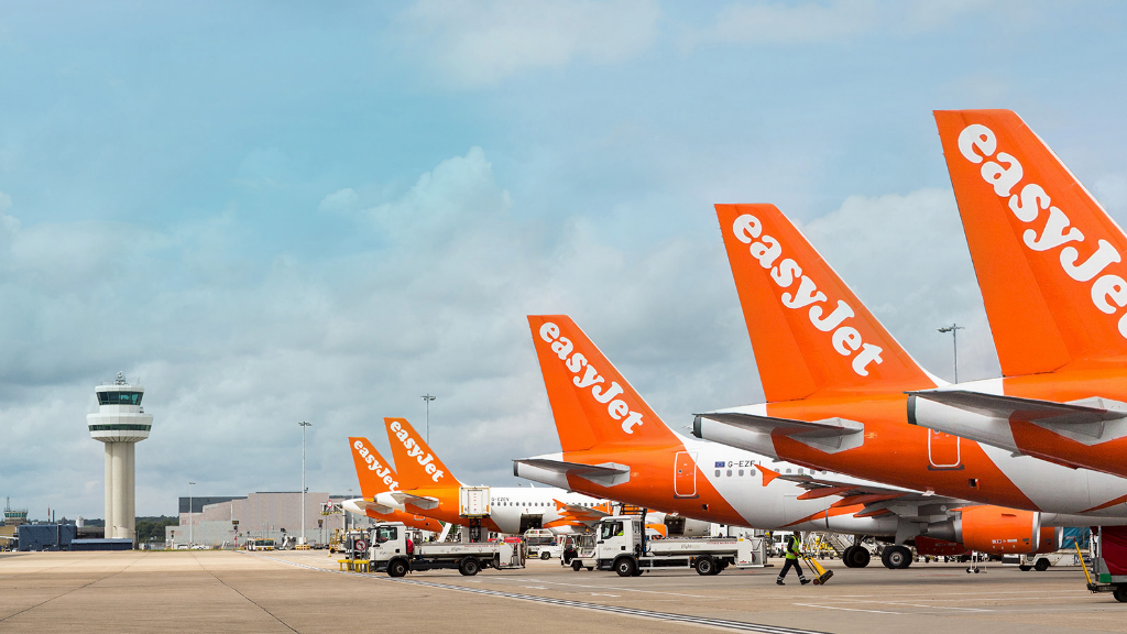 Photo via easyJet.