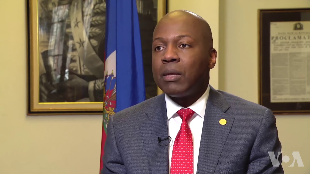 L'ex-Ambassadeur d'Haiti à Washington DC, Paul Altidor./Photo: VOA.